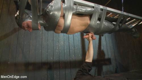 Gay BDSM Straight Duct Tape Hostage Edged