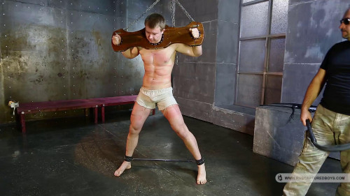 Gay BDSM RusCapturedBoys - The slave to train - Part I
