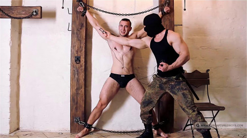 Gay BDSM Captured Plumber - Part I