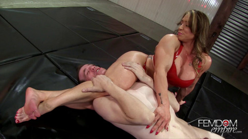 Femdom and Strapon Alpha Muscle Goddess. Starring Mistress Brandi Mae