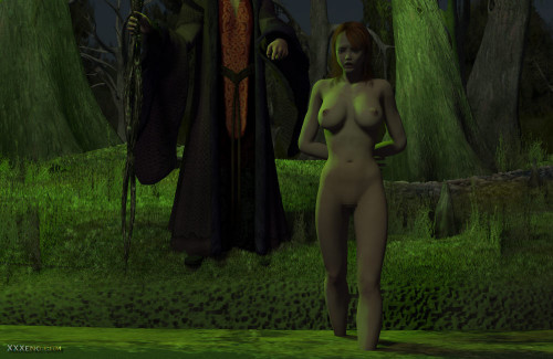 The Swamp Demon 3D Porno
