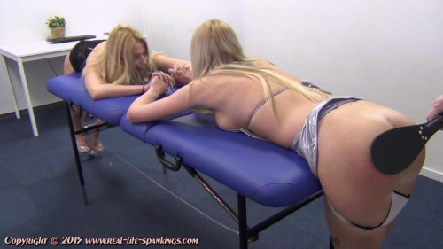 bdsm vey and Mandy soundly punished for provocative outfits