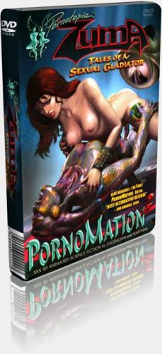 Pornomation 2. ZUMA tales of a sexual gladiator Cartoons