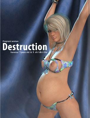 Forced Pregnancy(Pregnant Woman -Destruction-」