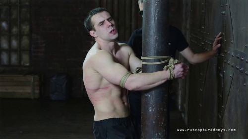 Gay BDSM RusCapturedBoys - Punishment for Unsubmissive Prisoner II