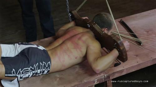 Gay BDSM RusCapturedBoys – Mixfighter Anatoliy - Final Part