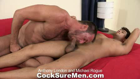 Anthony London & Michael Rogue Gay Porn Clips