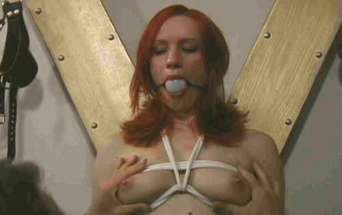 bdsm Bound angel jessica In BDSM Action
