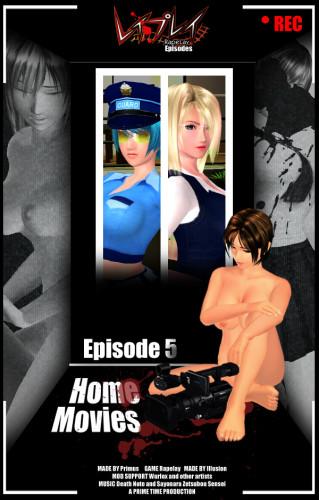 Rapelay HD Episodes – Volume 5: Home Movies 3D Porno