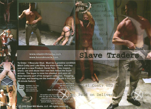 Gay BDSM Slave Traders Smm(2009)