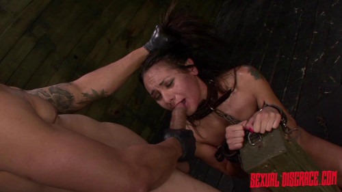 bdsm Isa Mendez Earns a Facial after Bondage Slave Training Session with Rough Sex and Deep Penetration