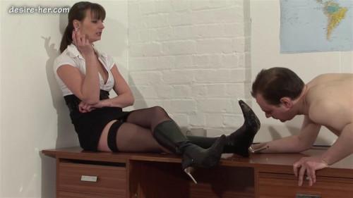 Femdom and Strapon Mistress Jo Domination