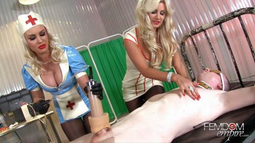 Femdom and Strapon Brittany Andrews, Gigi Allens - Sperm Snatchers
