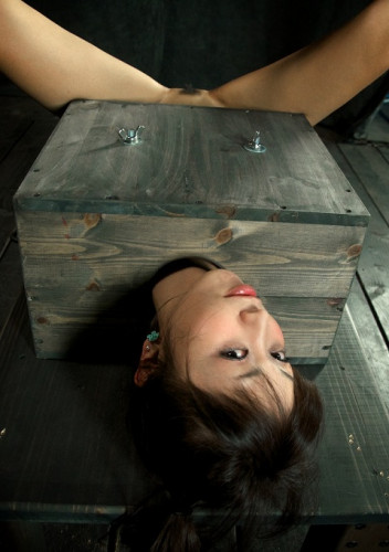 bdsm Cute innocent Japanese girl Boxed hard