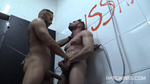 Gay BDSM Dominated In The Shower 4 (Frank Valencia, Mateo Stanford)