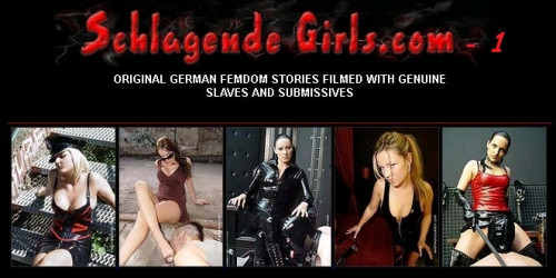 Femdom and Strapon Original German Femdom Stories Filmed With Genuine Slaves and Submissives 1