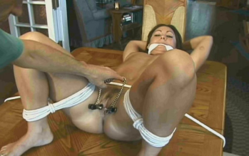 bdsm Coed In Bondage part 2 - Brittany