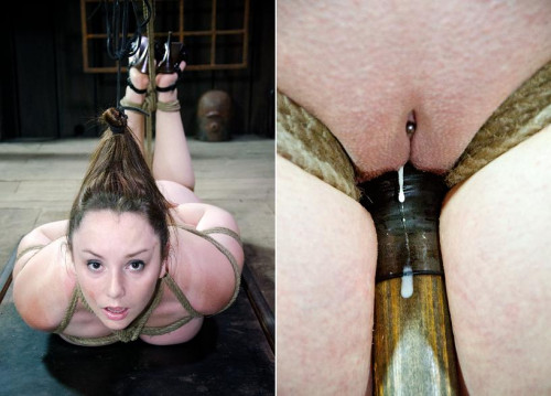 bdsm The vibrator helps sooth the pain