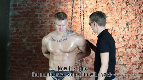 Gay BDSM Slave for Sale - Vasily - Final Part