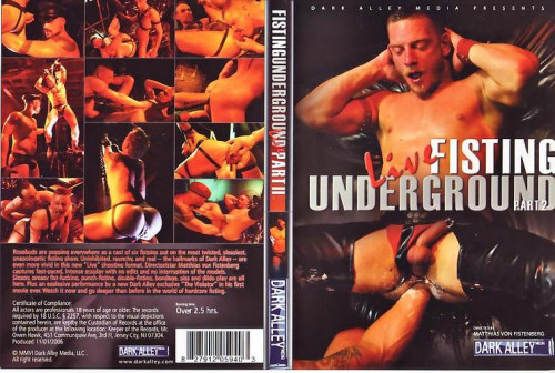 Gay BDSM Fisting Underground Live 2
