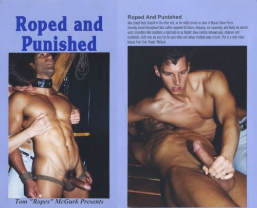 Gay BDSM Roped and Punished