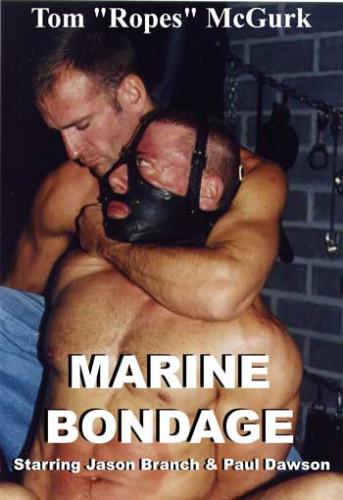 Gay BDSM Marine Bondage