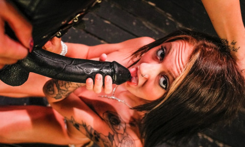 bdsm The cute and sexy Marina Angel in hot BDSM
