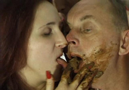 Hot Scat Kiss Filesmonster Scat