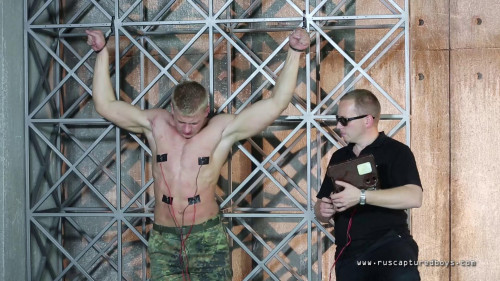 Gay BDSM Captured Solder Nikolai - Part II