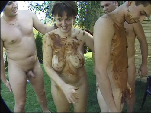 Outdoor Poo Threesome Filesmonster Scat