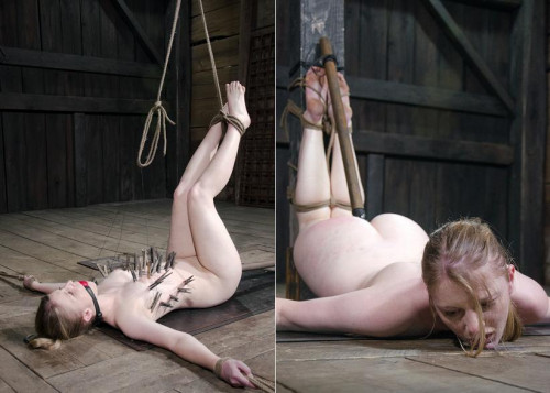 bdsm Her clit is tortured with pain