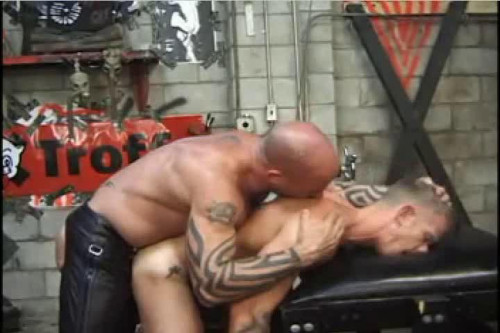 Pigs At The Troff 2 Gay BDSM