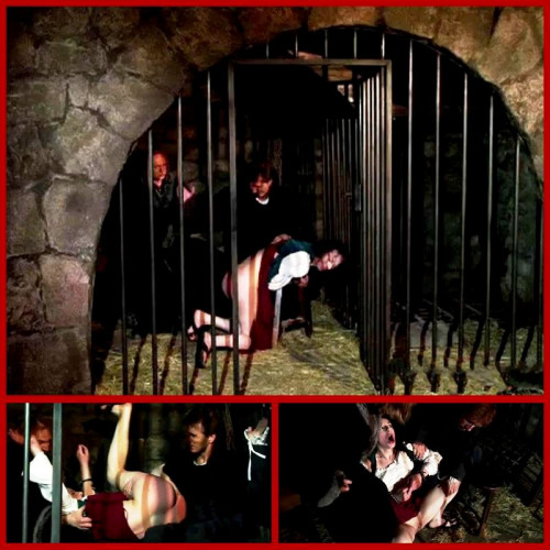 bdsm Barmaid Endures Punishment and Extreme Spanking - BrutalDungeon