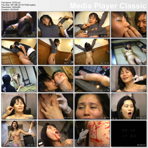 Extreme - Tortured Asian Girl with Needles BDSM