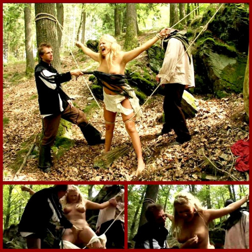 bdsm Witch Magda Endures Outdoor Hard Flogging - BrutalDungeon
