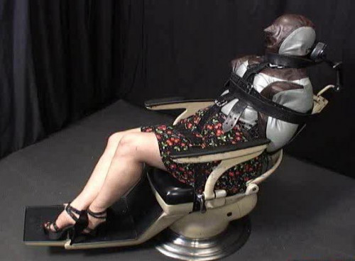 bdsm Butterfly Chair Bondage Part 1