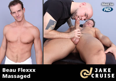 Beau Flexxx Massaged Gay Clips