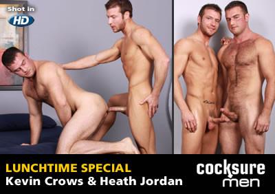 Kevin Crows and Heath Jordan Gay Porn Clips