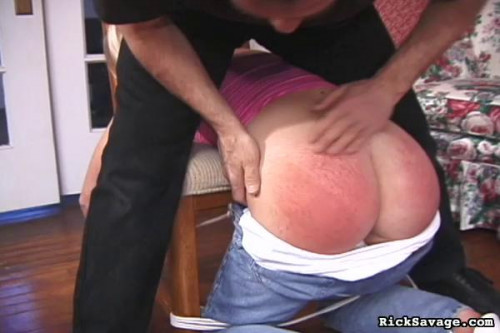 bdsm Savage Spanking Keegan