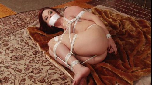 bdsm Bound and Gagged - Sarah Brooke Roped Naked and Barefoot - plus Behind the Scenes