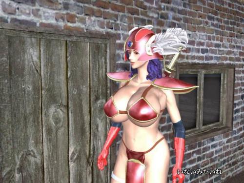 Onna senshi 2013 3D Porno