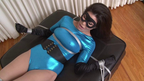bdsm Bound and Gagged - Tickled Superheroine - Ashley Renee