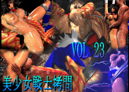 [3D Hentai Video]Ararza vol.23 - Young female fighter/Tentacle ecstasy movie 3D Porno