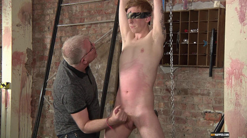 Gay BDSM Levi Is Made To Cum Hard