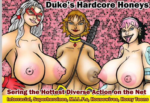 DukesHardcoreHoneys Full SiteRip Comics Toon Packs