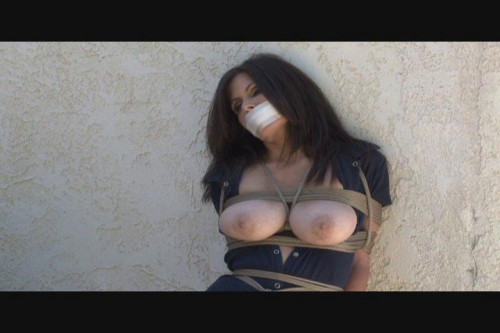 bdsm Bound and Gagged - Wandering in Bondage - Ashley Renee