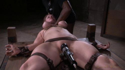 bdsm Bella Rossi Vibrated To Orgasm And Deepthroated By 10 Inch Bbc