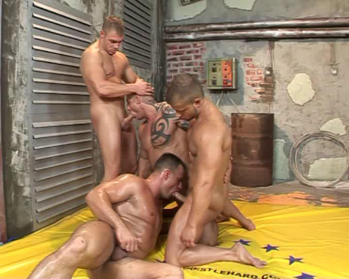 Gay BDSM Collection 2016 - Best 39 clips in 1. WrestleHard. Part 2.