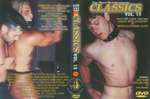 Classics Vol. 15 - Part 2: Roped & Punished Again Gay BDSM