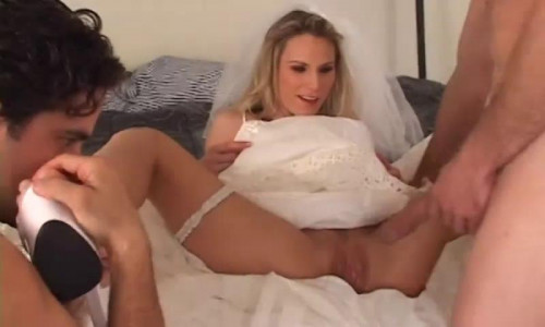 Femdom and Strapon My bride fucks a guy